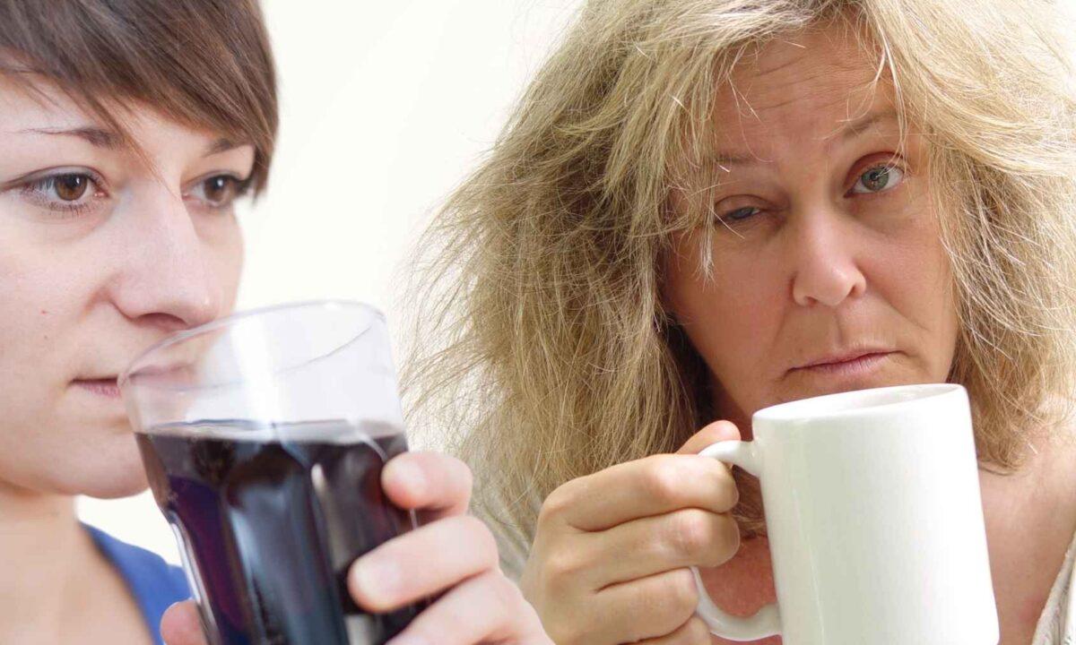 Os 10 principais problemas de beber muita cafeina para o